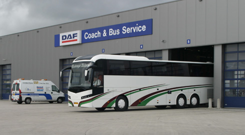 DAF coach and bus