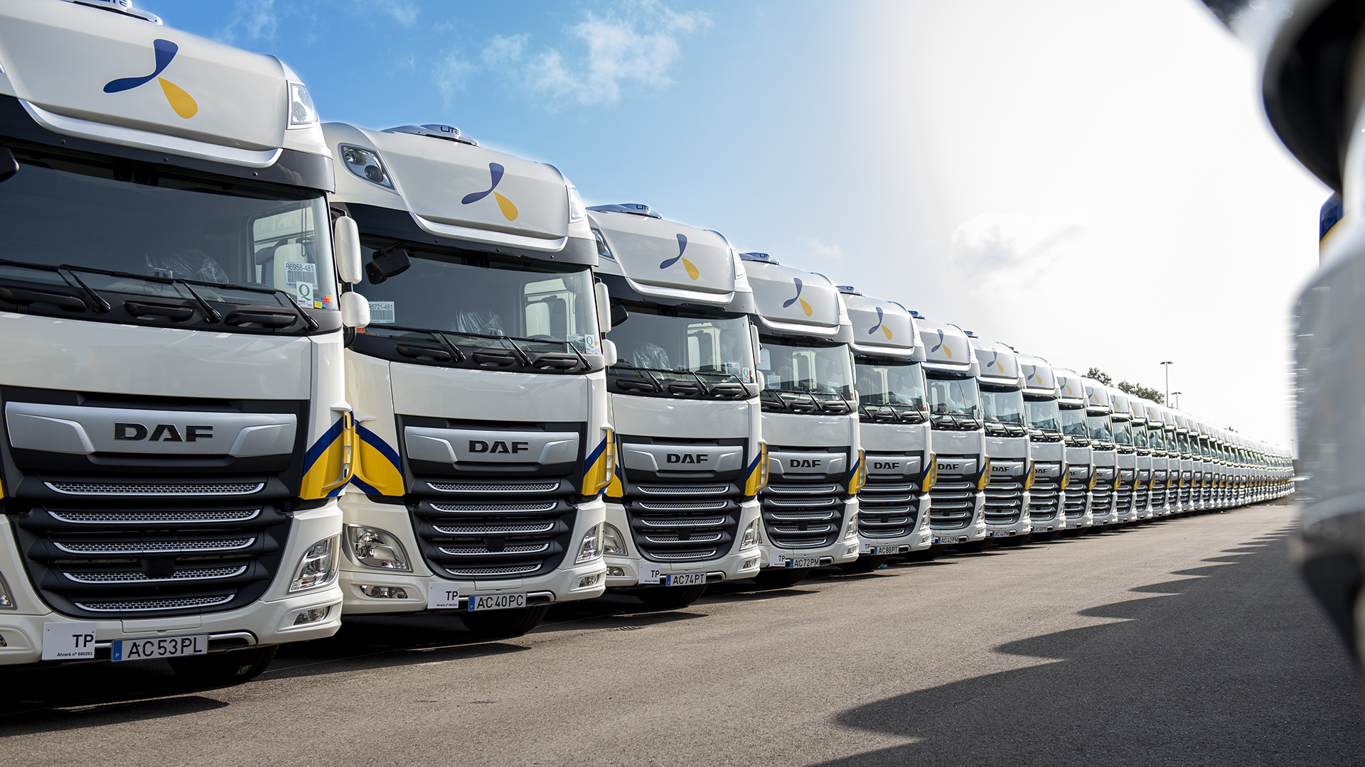 1.300 DAF XF 480 Super Space Cabs for Primafrio Group